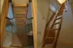 Ahşap Çatı Merdiveni